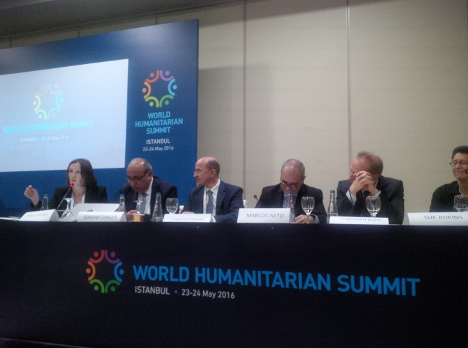 Day 1 - World Humanitarian Summit 2016